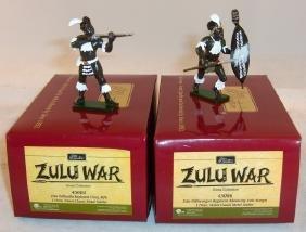 Britains Zulu War Gloss Figures