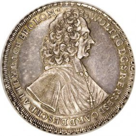 Austria Olmutz, Wolfgang Taler 1722, Dav-1218,