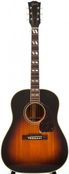 1950 Gibson SJ Sunburst Acoustic Guitar, #381026