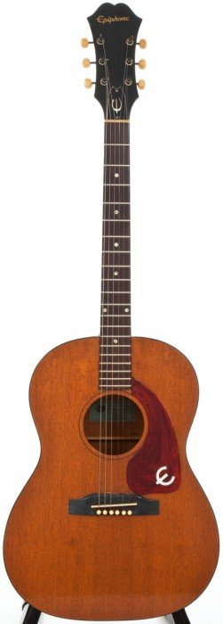 1965 Epiphone FT30 Natural Acoustic Guitar, Seri