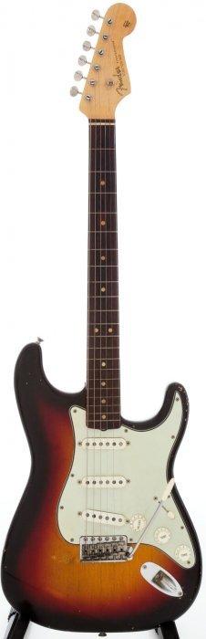 1964 Fender Stratocaster Sunburst Solid Body Ele