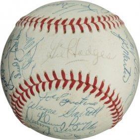 1969 New York Mets Team Signed Baseball.