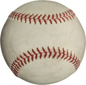 1971 Reggie Jackson All-Star Game Home Run Baseb