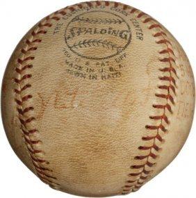 1972 Nate Colbert's Record Fifth Home Run Baseba