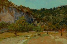 EDWARD G. EISENLOHR (American, 1872-1961) On The