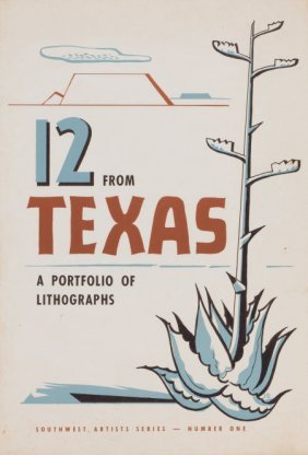 AMERICAN ARTISTS (20th Century) 12 From Texas, A