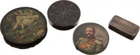 Lot Of Three Collectible Boxes And One Commemora