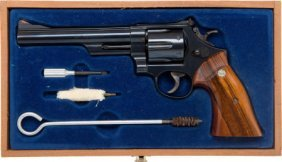 Cased Smith & Wesson Model 29-2 Double Action Re