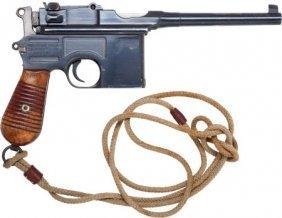 Mauser 96 Early Model 1930 Semi-Automatic Pistol