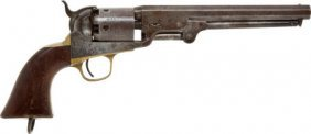 Colt 1851 Navy Percussion Revolver.