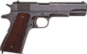 U.S. Ithaca Model 1911-A1 Semi-Automatic Pistol.