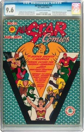 All Star Comics #12 Rockford Pedigree (DC, 1942)