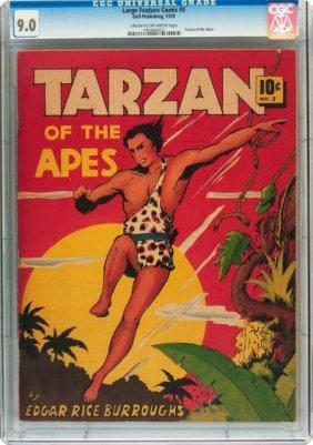 Large Feature Comic (Series I) #5 Tarzan Of The