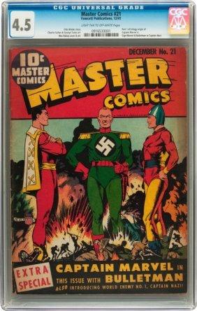 Master Comics #21 (Fawcett, 1941) CGC VG+ 4.5 Li