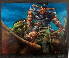 Simon Bisley And Kevin Eastman Melting Pot Splas