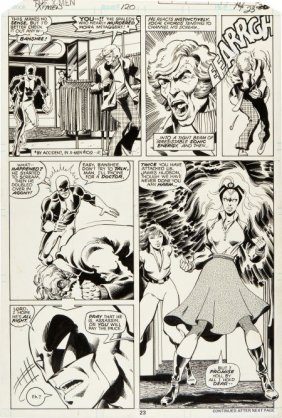 John Byrne And Terry Austin X-Men #120 Page 23 O