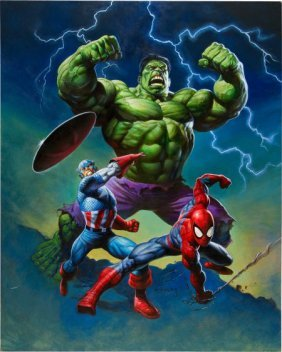 Alex Horley Marvel Heroes Limited Edition Laser