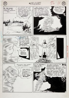 "Carmine Infantino And Joe Giella Flash #136 ""Mir"