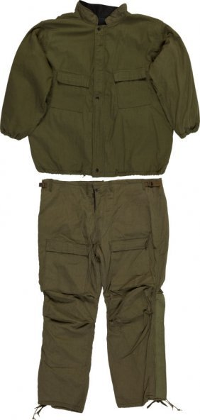 Military Chemical Protective Suit Jacket And Pan