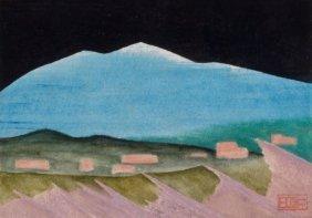 BILL BOMAR (American, 1919-1991) Snow Mountain W