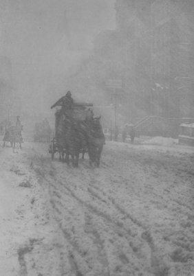 ALFRED STIEGLITZ (American, 1864-1946) Winter, F