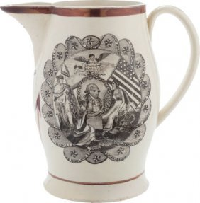 George Washington: A Scarce Large Liverpool Crea