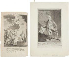 Wilkes And Hancock: Revolutionary War Era Engrav