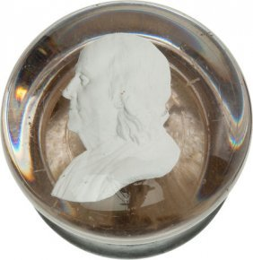 Benjamin Franklin: Sulphide Doorknob.