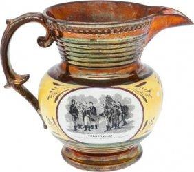 Circa 1824 Marquis De Lafayette Copper Luster Pi