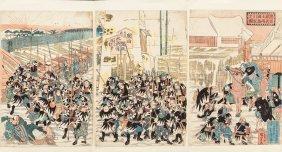 Utagawa Kuniyoshi (japanese, 1798-1861) The Stor