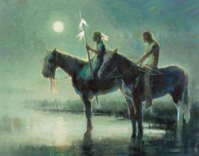 Rusti Warner (american, B. 1974) Summer Moon, 20