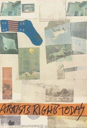 Robert Rauschenberg (american, 1925-2008) Artist