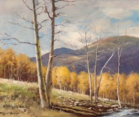 Robert William Wood (american, 1889-1979) Aspens