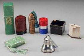 Eight Various Boxed Perfumes, Circa 1930-1960 6-