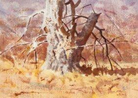 Joseph Stephen Bohler (american, B. 1938) Tree I