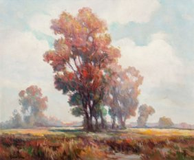 Frederick Pawla (american, 1876-1964) Autumn Lan