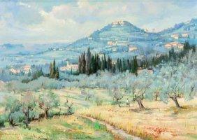 Gracco Ponticelli (italian, B. 1908) Oliviegrano