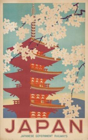20th Century School Japan Travel Poster Color Po