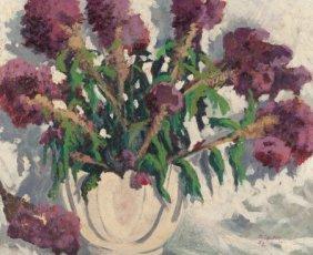 Carl Thomas Hoppe (american, 1897-1981) Vase Of