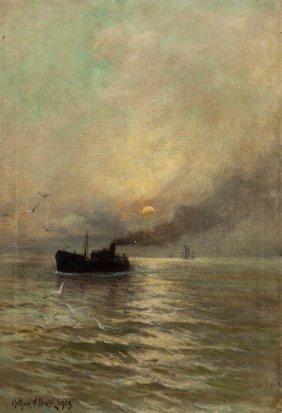 Arthur Vidal Diehl (american, 1870-1929) Steamsh
