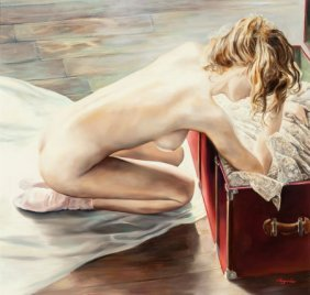 Olivier Legrand (french, 20th Century) Bewildere