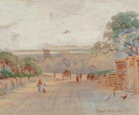 Frederick Judd Waugh (american, 1861-1940) Villa