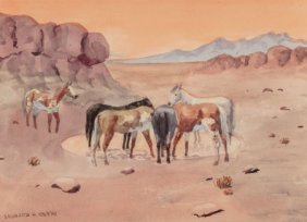 Leonard Howard Reedy (american, 1899-1956) Wild
