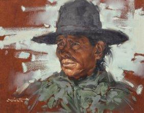 W. Clarence Mcgrath (american, 1938-2007) Portra