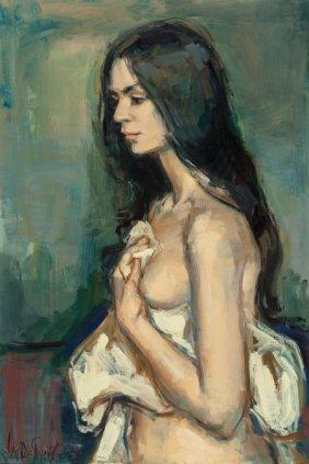 Jan De Ruth (american/czech, 1922-1991) A Female