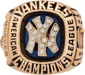 1981 New York Yankees American League Championsh
