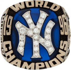 1996 New York Yankees World Championship Ring Pr