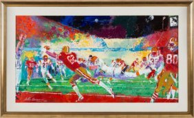 1989 Super Bowl Xxiii Original Painting By Leroy
