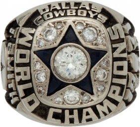 1972 Dallas Cowboys Super Bowl Vi Championship R