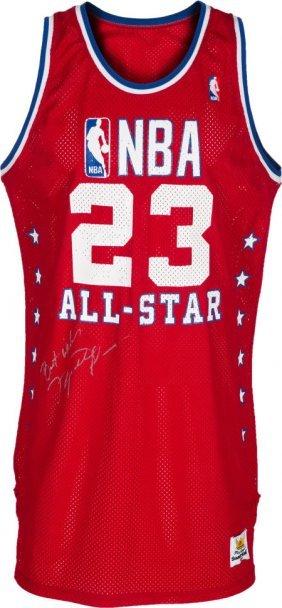 1989 Michael Jordan All-star Game Worn Jersey, M